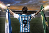 Argentinian soccer player — Stock Photo