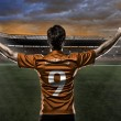 Stock Photo: Dutchmsoccer player