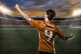 Dutchman soccer player — Stock Photo