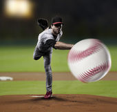 Pitcher Baseball Player — Stock Photo