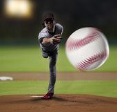 Pitcher Baseball Player — Stock Photo