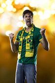 Brazilian Fan — Stock Photo