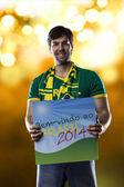 ブラジルのファン — ストック写真