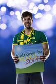 Brasilianische fan — Stockfoto