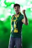Fan brasileño — Foto de Stock