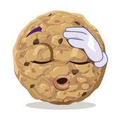 Alleviated cookie — Stok Vektör
