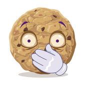 Silent cookie — Stock Vector