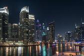 Amazing view of night Dubai. — Stockfoto