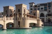 Bridge at the Dubai Mall, UAE — Stock Photo