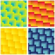 Set Of Seamless Square Patterns — Stock Vector #27102061