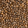 Cofee beans background — Stock Photo