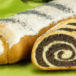 Stock Photo: Sweet Biscuit Rolls Cake