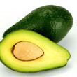 Halved Avocado — Stock Photo