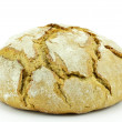 Bread on a white background — Stock Photo