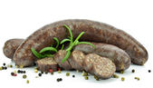 Black pudding — Stock Photo