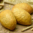 Wholemeal rolls — Stock Photo