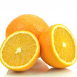 Oranges on a white background — Stock Photo