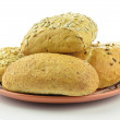 Wheat bread rolls — Stock Photo
