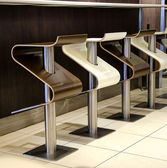 餐厅椅子 — 图库照片