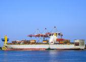Kargo gemisi — Stok fotoğraf