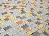 Colored pavement — Stock Photo