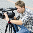 Video camera operator — Stock Photo #32839021