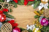 Marco de Navidad — Foto de Stock