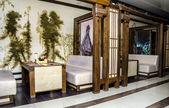 Interior do restaurante japonês — Foto Stock