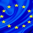 Flag of EU — Stock Photo
