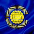 Flag of Commonwealth of Nations — Stock Photo