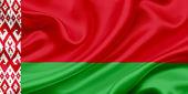 Flag of Belarus — Stock Photo