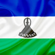 Flag of Lesotho — Foto de Stock
