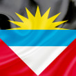Flag of Antigua and Barbuda — Foto de Stock
