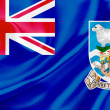 Flag of Falkland Islands — Stock Photo #35928903