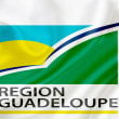 Flag of Region Guadeloupe — Stock Photo