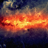 Center of the Milky way galaxy — Stock Photo