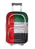 Travel suitcase, the concept of emigration — Stock Photo