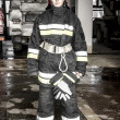 Stock Photo: Firefighter