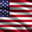 Flag of The United States — Stock Photo #39796345