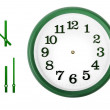 Wall clock — Stock Photo #46358821