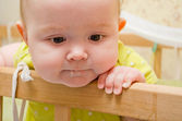 Sad baby — Stock Photo
