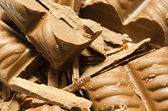 Crushed chocolate — Stockfoto