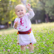 Little Ukrainian girl — Stock Photo