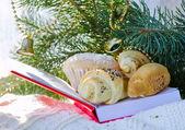 Christmas pretzels — Stock Photo