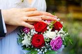 Couple's hands — Stock Photo