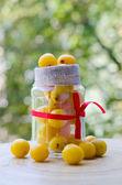 Yellow plums — Stock Photo