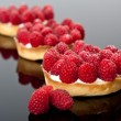 Raspberry tart — Stock Photo #49547593