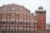 "India Rajasthan, Jaipur ""Hava Mahal"" Palace of Winds — Stock Photo"