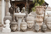 Buddha statue shop, India — Foto Stock