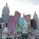 Las Vegas city, New York-New York Hotel & Casino — Stock Photo #49981905